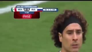 Mexico vs Russia ( 2-1 )  confederación 2017