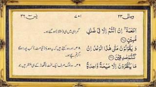 Surah Yasin full by Nassim Yaqub with written urdu translation Surah Yaseen
