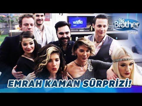 Emrah Kaman'dan Big Brother Türkiye Evi Ziyareti!