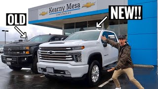 Taking Delivery of my 2020 Chevy 2500HD!!