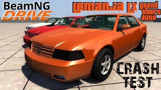 BeamNG DRIVE crash test mod Lemanja LX (GTA)