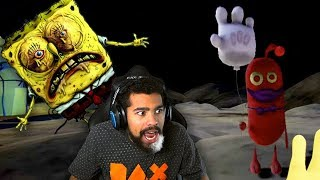 BIKINI BOTTOM HAS CHANGED... THERE'S A MONSTER HERE!! | Spongebob's Day of Terror