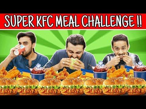 SUPER ZINGER KFC MEAL CHALLENGE l The Baigan Vines