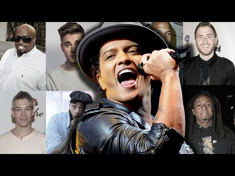10 Songs You Didn't Know Were Written By Bruno Mars video