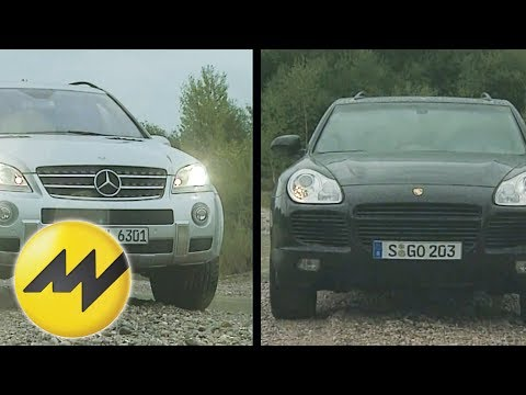 Mercedes ML 63 AMG vs. Porsche Cayenne Turbo S: Vergleich der Power-SUVs