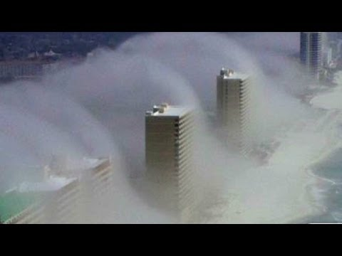 Strange clouds form over Panama City, Florida. Music Videos