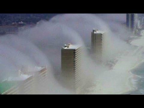 Strange clouds form over Panama City, Florida. Music Videos