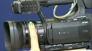 04. Tutorial 1 - How to use the Canon XF 105 Camera