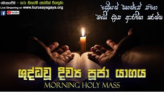 Morning Holy Mass - 08/06/2021