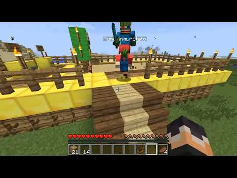 Minecraft Mini-Game : HEROBRINE ESCAPE!