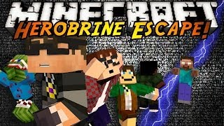 Minecraft Mini-Game : HEROBRINE ESCAPE!