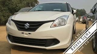 Maruti Suzuki Baleno Sigma Base Version Walkaround