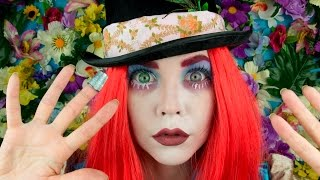 MAD HATTER MAKE UP - ALICE THROUGH THE LOOKING GLASS