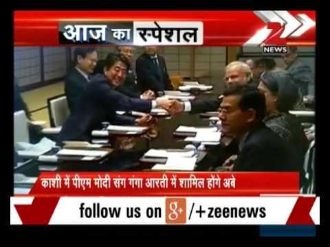 Japan PM Shinzo Abe, PM Modi to visit Varanasi tomorrow