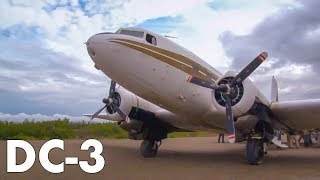 Anchorage to Iguigug on the DOUGLAS DC-3