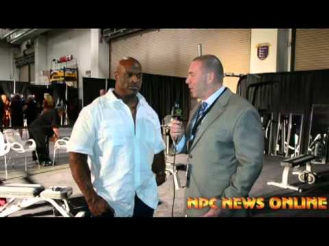 Mr.olympia Ronnie Coleman Interview -2013 Olympia Predictions.. video