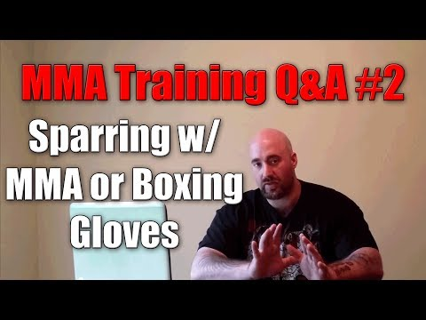 Sparring with MMA or Boxing Gloves? | MMA Training Q&A Image 1