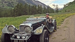 One last cruise in my Jaguar SS100 Roadster