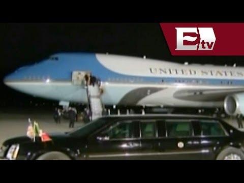 Barack Obama se retira de la Cumbre de Líderes de Toluca / Paola Virrueta