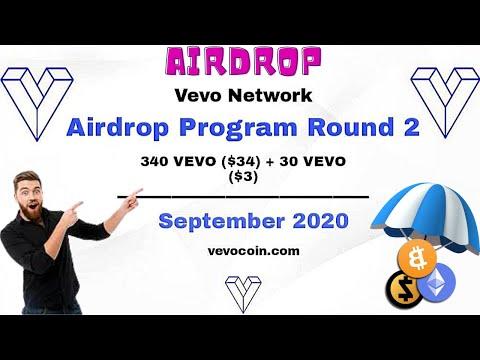 Vevo Network Airdrop | Earn 340 Vevo Token ($34)