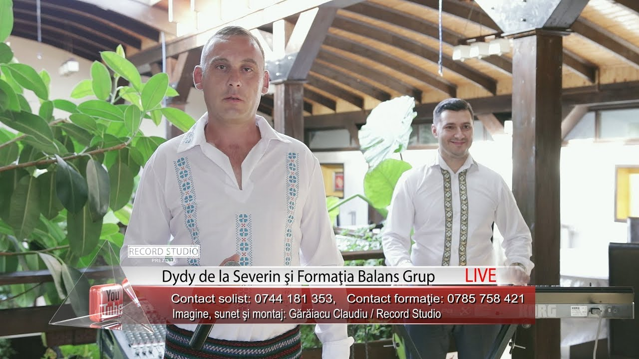 Dydy de la Severin si Formatia Balans Grup - Vulture ce zbori inalt (Restaurant Elena Apa Neagra )