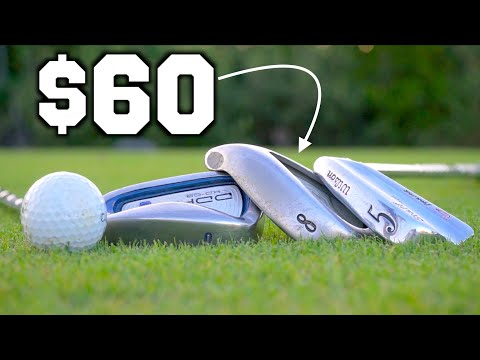 Playing Golf With Overpriced Used Clubs | GM GOLF
