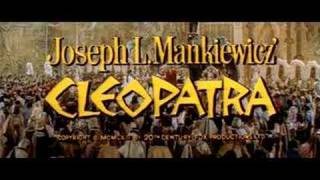 Cleopatra (1963) - Official Trailer