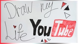 Моя Жизнь На YouTube | DRAW MY YOU TUBE LIFE | Arisha Fries
