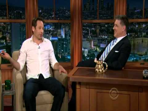 David Duchovny on The Late Late Show with Craig Ferguson