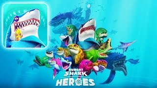 HUNGRY SHARK HEROES!!! (NEW UBISOFT GAME)