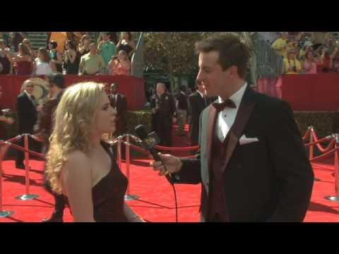 Primetime Emmy 61 Red Carpet Interview - Allie Grant
