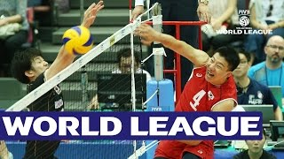 A libero fight! What a rally from Japan and Korea!