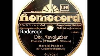 Der Revoluzzer   Harald Paulsen