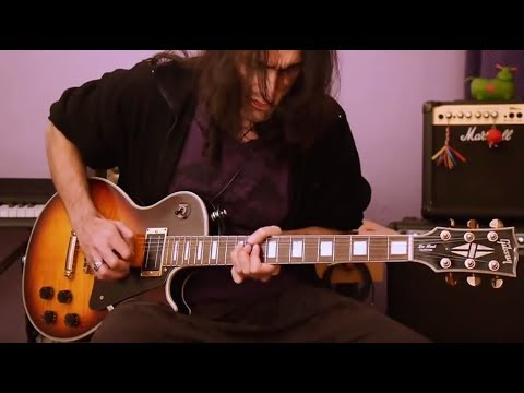 Tribute to Gary Moore RIP - Empty Rooms Outro solo