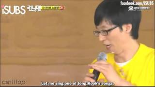 Yoo Jae Suk Imitating Kim Jong Kook 'Loveable'