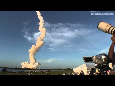 [HD] Real Sound of Space Shuttle STS-117 Launch, 3 miles
