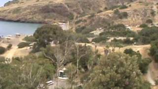 two harbors, catalina island, view from state park trail