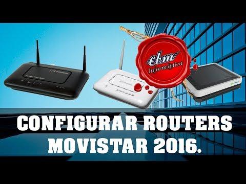 CONFIGURAR CUALQUIER ROUTER DE MOVISTAR 2016