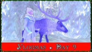 Vlogmas Day 9! Being Queen Elsa! (Second Life)