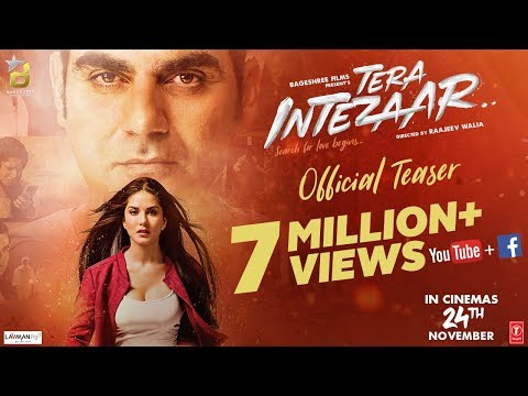 Tera Intezaar Official Teaser   Sunny Leone   Arbaaz Khan   Raajeev Walia   Bageshree Films   24 Nov thumbnail