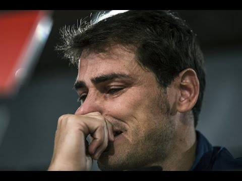 Emotiva despedida de Iker Casillas del Real Madrid
