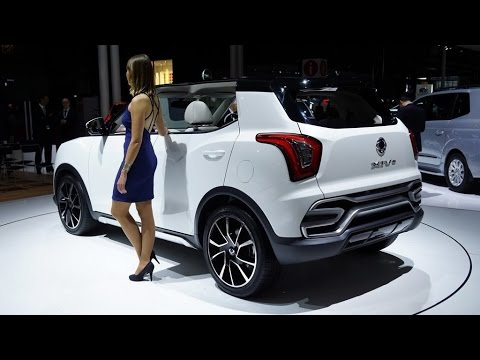 SsangYong XIV Air and Adventure Concepts - Paris Auto Show