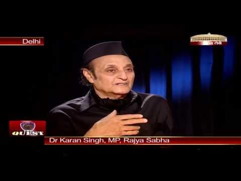 Dr. Karan Singh in 'The Quest'