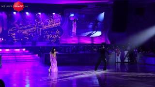 Stefano di Filippo and Dasha Chesnokova. Rumba. World Kremlin Cup 2013