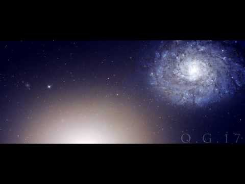 Galaxy Pair Arp 116 and HH 110 - Full HD 1080p
