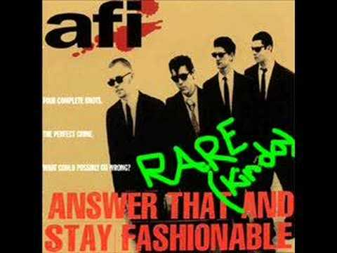 AFI - Man In A Suitcase