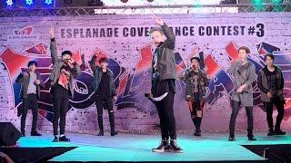 160910 SHOWTIMEz cover iKON - Apology + Anthem + SINOSIJAK + BOOMBAYAH @ Esplanade#3 (Semi-Final)