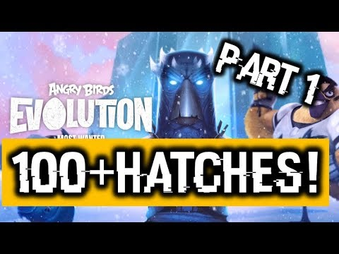 Doing 100+ Hatches!!! - Most Wanted Birds Event | Angry Birds Evolution