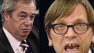 BREXIT ANGER: 'Shameful' BBC fails to broadcast Farage speech despite showing Verhofstadt speech