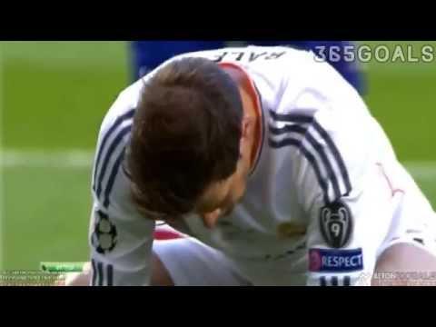 Gareth Bale misses goal vs Atletico Madrid 24 05 2014